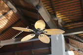 Colonial style ceiling fan — Stock Photo