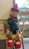 Pinocchio doll — Zdjęcie stockowe