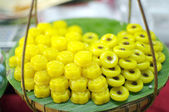 Thai traditional dessert — Stock Photo