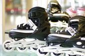 Roller blade shoes — Stock fotografie