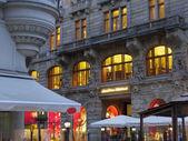 European architecture light — Stock Photo