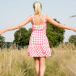 Young woman in nature — Stock Photo #33375967
