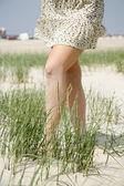 若い女性の足 — ストック写真