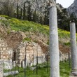 Stock Photo: Temple of Apollo in Delphi Greece