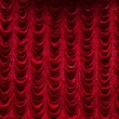 Theater curtain background — Stock Photo #33416967