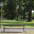 Stock Photo: Green city park