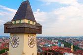 Panoramic view of Graz — Stock Photo