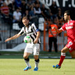 superleague match paok vs platanias — Stock Photo