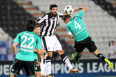Europa League group stage match PAOK vs Shakhter Karagandy — Stock Photo