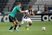 Champions League play-off match PAOK vs Schalke — Stock Photo