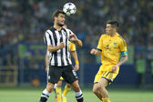 METALIST vs PAOK at Metalist — Stock Photo