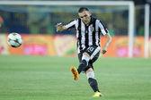 UEFA Champions League soccer match METALIST vs PAOK — Stock Photo