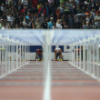 Stock Photo: Hurdles Final
