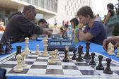 Chess tournament Marathon — Stock Photo