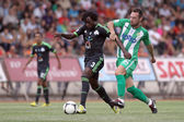 Panthrakikos against Panathinaikos football match — Stock Photo