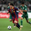 UEFA Champions League group stage match Panathinaikos vs Barcelona — Stock Photo