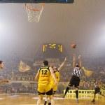 Basket League game Aris vs Paok — Stock Photo #34397551