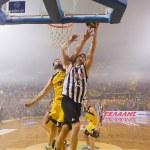 Basket League game Aris vs Paok — Stock Photo #34398021
