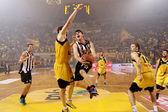 Basket League game Aris vs Paok — Stock Photo