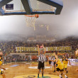 Stock Photo: Basket League game Aris vs Paok
