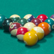 Billiard balls on table. — Stock Photo #35592127