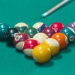Billiard balls on table. — Stock Photo #35592185