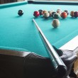 Billiard balls on table. — Stock Photo #36018853