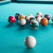 Billiard balls on table. — Stock Photo #36018979