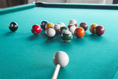Billiard balls on table. — ストック写真
