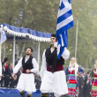 28th October Greek Parade — Stock Photo