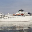 Постер, плакат: Cruise ship Voyager sailed port