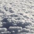 Cloud formations seen from the plane — Stock Photo
