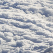 Stock Photo: Cloud formations seen from plane