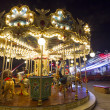 Stock Photo: Lunpark carousel in public outdoor area
