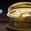 Stock Photo: Luna park carousel in a public outdoor area