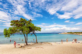 Vourvourou beach in Halkidiki, Greece — Stock Photo