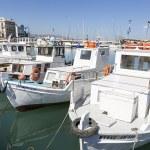 Fishing boats,Heraklion of Crete, Greece — Stock Photo
