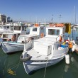 Fishing boats,Heraklion of Crete, Greece — Stock Photo