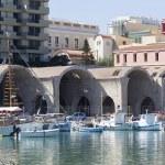 Fishing boats,Heraklion of Crete, Greece — Stock Photo #39200055