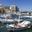 Fishing boats,Heraklion of Crete, Greece — Stock Photo #39200585