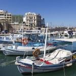 Fishing boats,Heraklion of Crete, Greece — Stock Photo #39200585