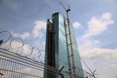 The new European Central Bank Headquarters — Stock Photo