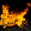 Stock Photo: Red Fire and Flames Background