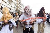 Bell bärare parad i thessaloniki — Stockfoto