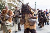 Desfile de portadores de campana en Salónica — Foto de Stock