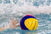 Paok vs vouliagmeni wasserball — Stockfoto