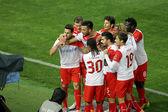Paok vs Olympiakos superleague Grecji mecz — Zdjęcie stockowe