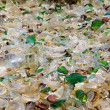 A large amount of trash polluting — Stock Photo #45016765