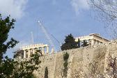 Ancient temple Parthenon in Acropolis Athens Greece — Stock Photo
