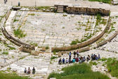 Amphitheater in the Acropolis, Athens — Stock Photo